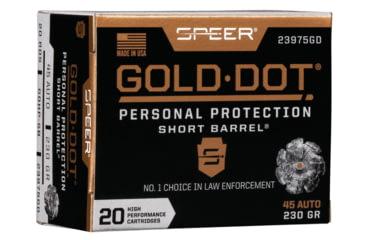 Speer Gold Dot Short Barrel