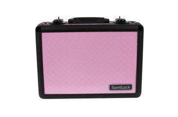 SportLock Double Pistol Case, Pink, 11.75x8.5x4in 00002P