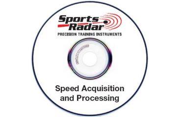 Sports Radar Detector / Radar Gun PC CD-ROM w/ Speed Acquisition Software DET-PC-01