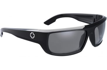 Spy Optic Bounty Sunglasses - Matte Black Frame and ANSI Clear Lens 673017374094
