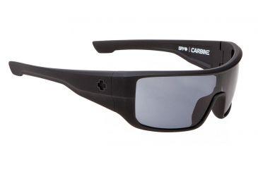 Spy Optic Carbine Sunglasses w/ Matte Black Frame & Grey Lens