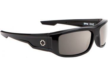 Spy Optic Colt Sunglasses - Black Frame and Happy Bronze Polarized W/ Black Mirror Lens 673075038832