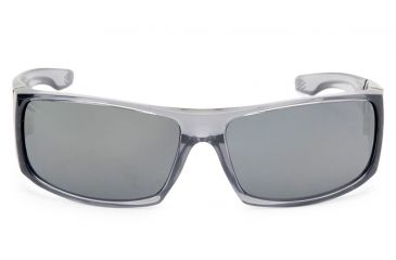 Spy Optic Cooper XL Sunglasses w/ Clear Smoke & Grey Silver Mirror Lens