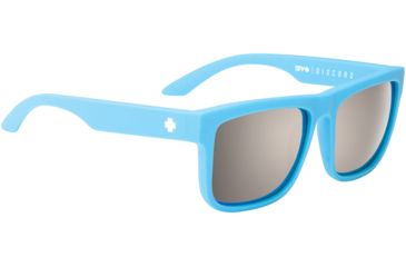 Spy Optic Discord Sunglasses - Matte Blue Frame and Happy Bronze Polarized W/ Black Mirror Lens 673119917832