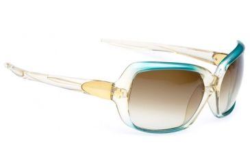 670275592073 Spy Optic Dynasty Sunglasses - Teal Vintage Fade frame, Bronze Fade lenses