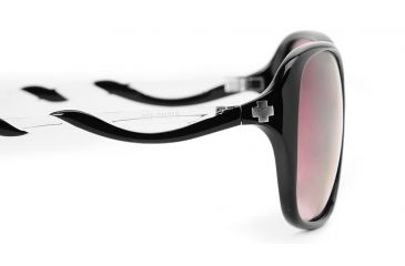Spy Optic Fiona Single Vision Prescription Sunglasses - Black w/ Clear Frame 570299090000RX