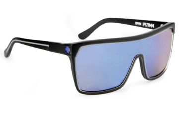 Spy Optic Flynn Sunglasses w/ Black Ice Frame & Purple Spectra Lens