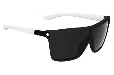 Spy Optic Flynn Sunglasses w/ Matte Ebony Ivory Frame & Grey Lens