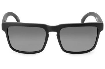 Spy Optic Helm Sunglasses w/ Matte Black Frame & Grey Polar Lens