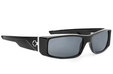 Spy Optic Hielo Sunglasses, Black Frame, Grey Polarized Lenses 670375062135