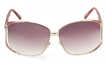 Spy Optic Kaori Sunglasses w/ Gold Cherry Red Frame & Bronze Fade Lens