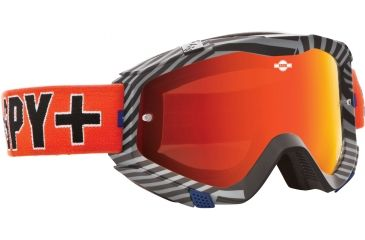 Spy Optic Klutch MX Goggles - SPY + Kevin Windham Frame and Smoke w/Red Spectra + Clear Lens 322017839827