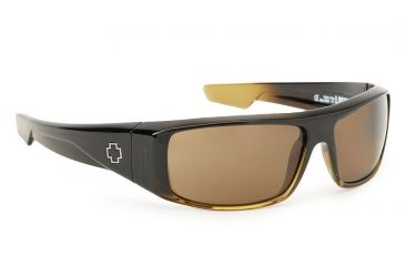5220f4447a Spy Optic Logan Single Vision Prescription Sunglasses - Bronze Fade Frame  570939130000RX