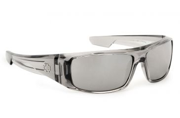 Spy Optic Logan Single Vision Prescription Sunglasses - Clear Smoke Frame 570939204000RX