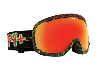 Spy Optic Marshall Snow Goggles - Sailin On - Bronze W/Red Spectra Lens 313013023083