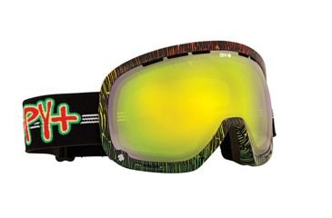 Spy Optic Marshall Snow Goggles - Sailin On - Yellow W/Green Spectra Lens 313013023818