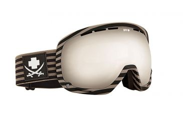 Spy Optic Marshall Snow Goggles - Scallywag/Flight - Bronze W/Silver Mirror Lens 313013037084
