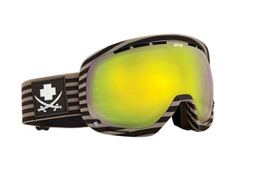 Spy Optic Marshall Snow Goggles - Scallywag - Yellow W/Green Spectra Lens 313013037818