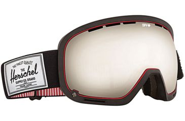 Spy Optic Marshall Snow Goggles - Spy+Herschel - Bronze w/Silver Mirror Lens 313013026084