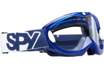 Spy Optic Alloy Motocross Goggles - Blue Crystal frame, Clear lens