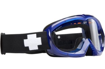Spy Targa Mini MX Goggles - Blue Crystal frame, Clear lens 320391104097