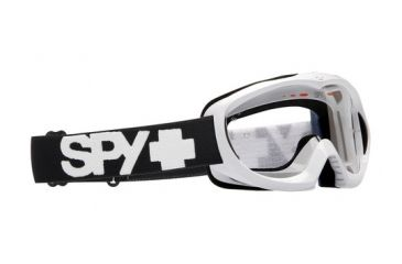 Spy Targa Mini MX Goggles - White frame, Clear lens 321095632097