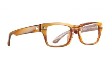 Spy Optic Progressive Prescription Eyeglasses - Braden 49 - Brown Horn Frame SRX00044PROG