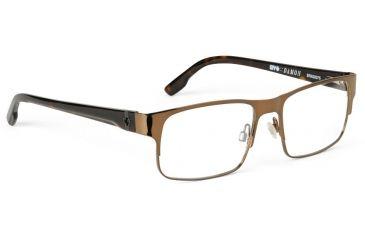 Spy Optic Progressive Prescription Eyeglasses - Damon 53 - Mahogany Frame SRX00075PROG