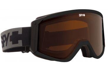 Spy Optic Raider Snow Goggles - Black Frame and Bronze +Persimmon Lens 313074038070