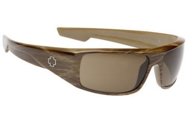Spy Optic Rx Sunglasses Dirty Mo Brown Strip Tortoise Frame 570939316000