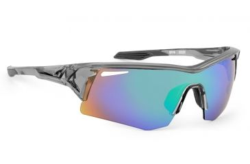 Spy Optic Screw Sunglasses w/ Clear Smoke Frame & Bronze Green Spectra Lens