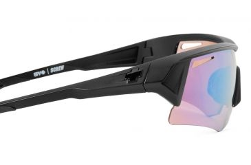 Spy Optic Screw Sunglasses Commando Kit w/ Matte Black Frame & Rose Contact Lens