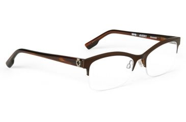 Spy Optic Single Vision Prescription Eyeglasses - Avery 52 - Mahogany  Frame SRX00067RX