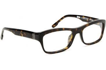 Spy Optic Single Vision Prescription Eyeglasses - Carter 54 - Dark Tortoise Frame SRX00041RX