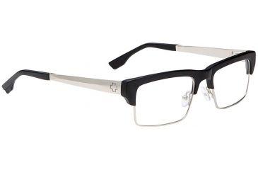 Spy Optic Single Vision Prescription Eyeglasses - Flint 51 - Matte Blk/Matte Silver Frame SRX00095RX