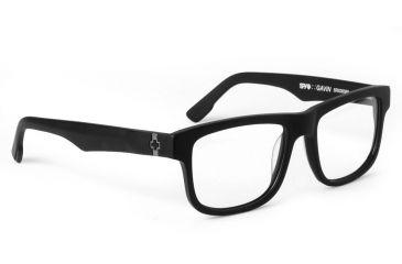 Spy Optic Single Vision Prescription Eyeglasses - Gavin 51 - Matte Black Frame SRX00089RX