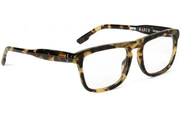 Spy Optic Single Vision Prescription Eyeglasses - Marco 53 - Army Tortoise Frame SRX00087RX