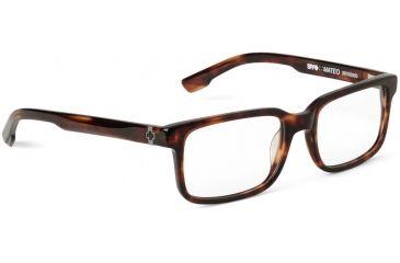 Spy Optic Single Vision Prescription Eyeglasses - Mateo 52 - Classic Tortoise Frame SRX00093RX