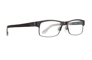 f9e44ab1b3 Spy Optic Single Vision Prescription Eyeglasses - Miles 52 - Black Frame  SRX00016RX