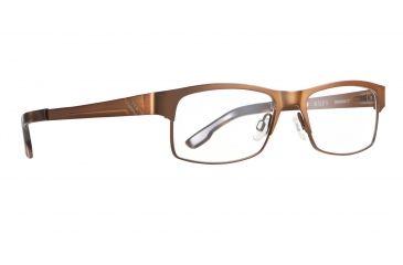 Spy Optic Single Vision Prescription Eyeglasses - Miles 52 - Chestnut Frame SRX00017RX