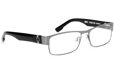 Spy Optic Single Vision Prescription Eyeglasses - Trenton 55 - Gunmetal/Black Frame SRX00054RX