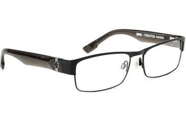 Spy Optic Single Vision Prescription Eyeglasses - Trenton 55 - Matte Black/Smoke Frame SRX00053RX