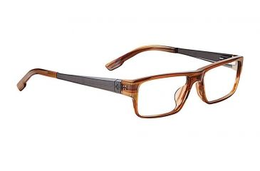 Spy Optic Spy Optic Bixby Eyeglasses - Brown Horn Frame & Clear Lens, Brown Horn SRX00038