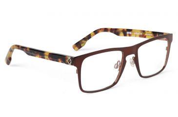 Spy Optic Spy Optic Heath Eyeglasses - Mahogany Frame & Clear Lens, Mahogany SRX00072