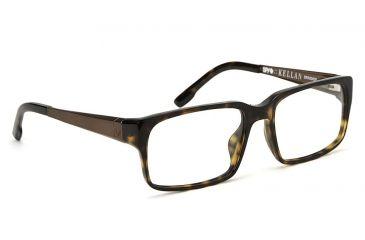 Spy Optic Spy Optic Kellan Eyeglasses - Dark Tortoise Frame & Clear Lens, Dark Tortoise SRX00035