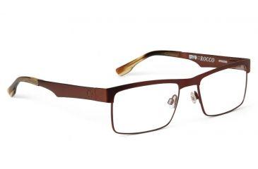 Spy Optic Spy Optic Rocco Eyeglasses - Mahogany Frame & Clear Lens, Mahogany SRX00063