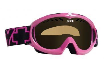 Spy Optic Targa Mini Pink Snow Goggles - Persimmon Lens 310775484185