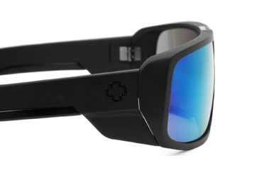Spy Optic Touring Sunglasses w/ Matte Black Frame & Grey Blue Multilayer Lens