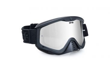 Spy Optic Whip MX Goggles w/ Dark Side Frame & Smoke Silver Mirror Lens