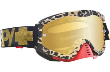 Spy Optic Whip MX Goggles - Mary Jane Frame and Smoke w/Gold Mirror Lens 320791373829